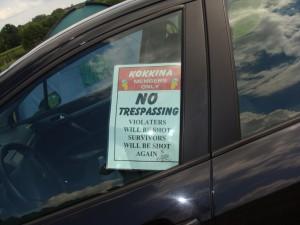 no tresparsing