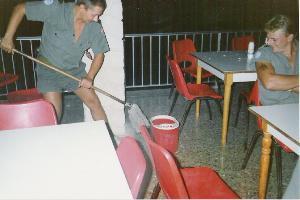 vaskergulv